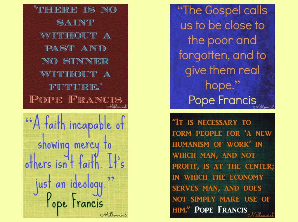 Millennial Quotes Cool Top 48 Pope Francis Quotes From 48 Millennial